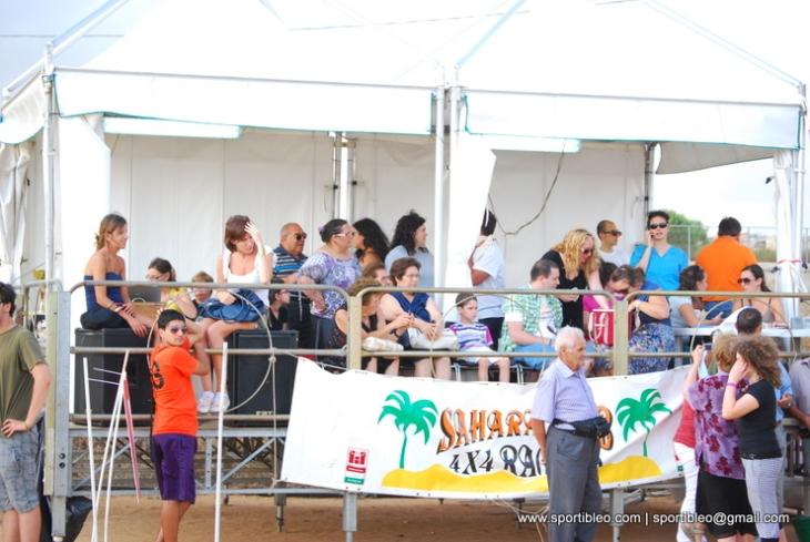 il palco dell'associazione italiana cieci sezione di ragusa