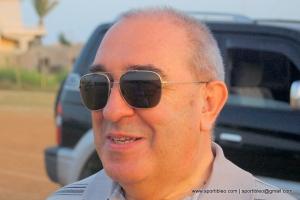 Il presidente dell'Unione italiana ciechi, maestro giovanni arestia.