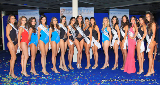 SPORT OFF/Miss Italia – All\'ultima fascia: serata al fotofinish a ...